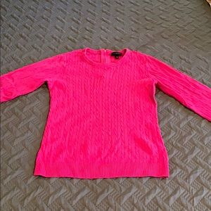 The Limited 3/4 sleeve sweater